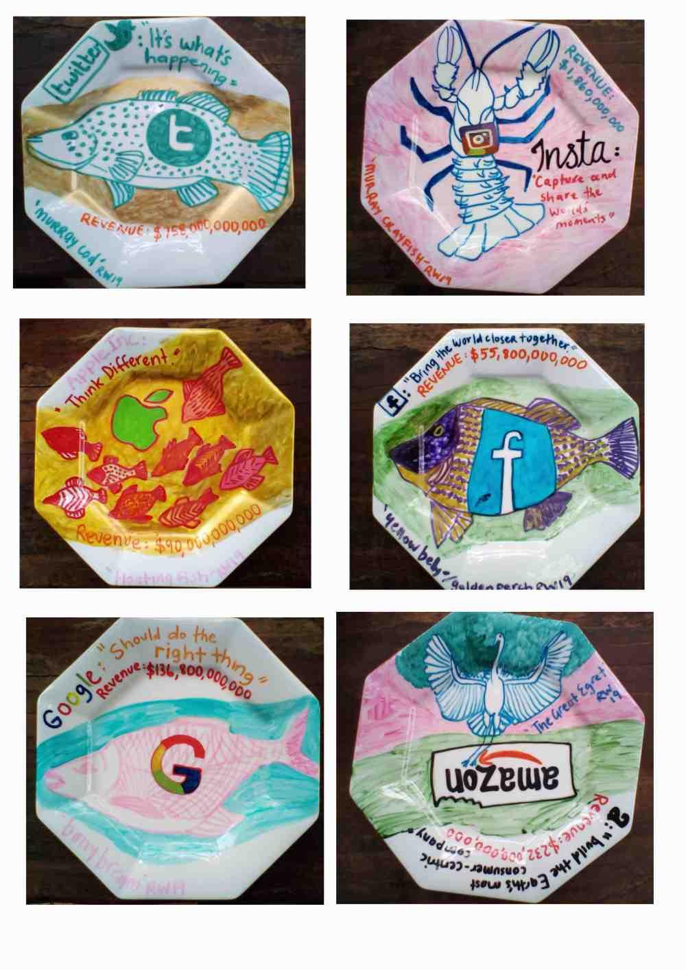 2. The Last Supper? Installation Plates_RWilson2019