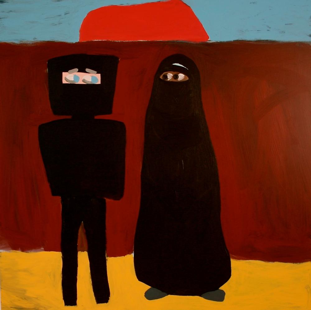 Ned's Burqa_2007_RWilson